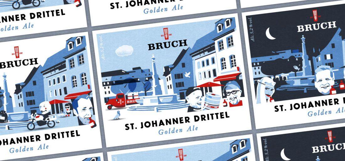 Bruch Bier - St. Johanner Drittel, ein Golden Ale für den