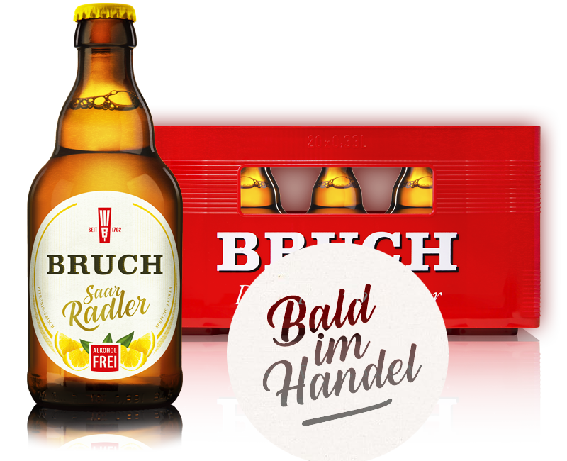 SaarRadler 0% - das leckere alkoholfreie Radler - bald im Handel